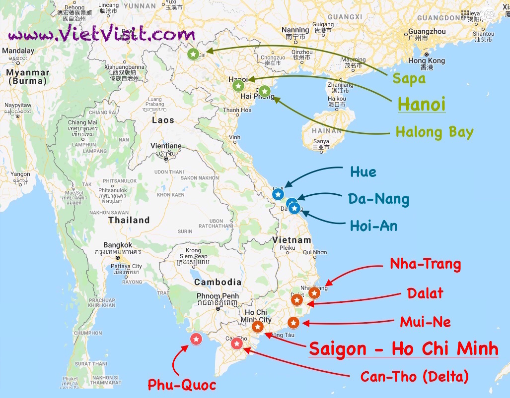 Vietnam - What to Visit ? How to Arrive ? Where to Stay ?